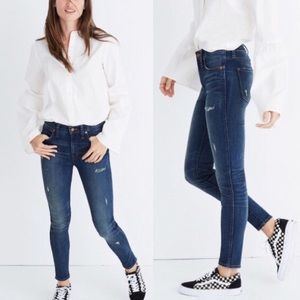 Madewell 9 High-Rise Skinny Jean In Japanese Denim